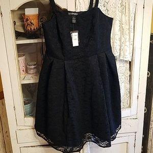 Lane Bryant black Lace dress!  Sz 18